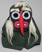 The Old woman - mask The Goat (New Year's ritual) Cepleniţa (Iaşi) Astra Museum Sibiu, n° 12688 P Romania