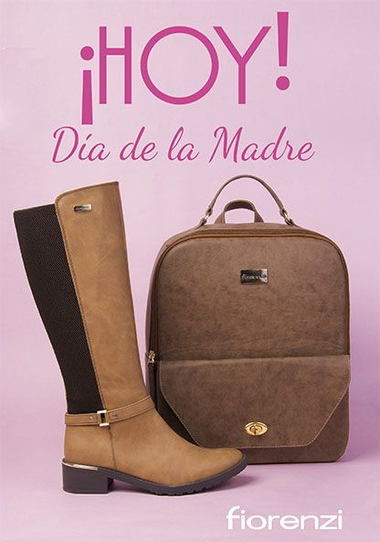 ¡HOY! es el día de la Madre, Te esperamos en TODOS nuestros puntos de venta Bogotá donde encontraras el regalo adecuado para Mamá al mejor precio. TODO el calzado con el 50% de descuento. www.fiorenzi.com.co *No acumulable con otras promociones.