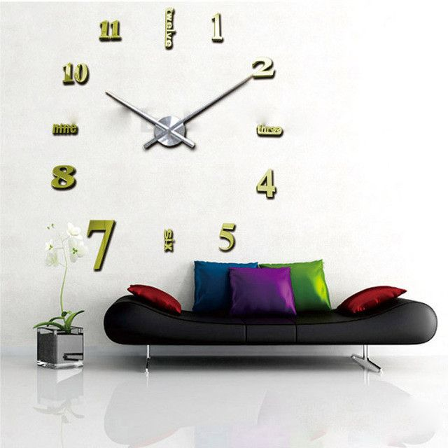 17 Best Ideas About Mirror Wall Clock On Pinterest