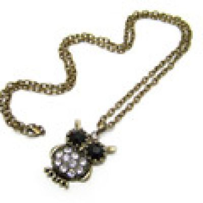 Retro Owl Necklace General. Small and catchy. REPIN if you like it. Only 39 IDR