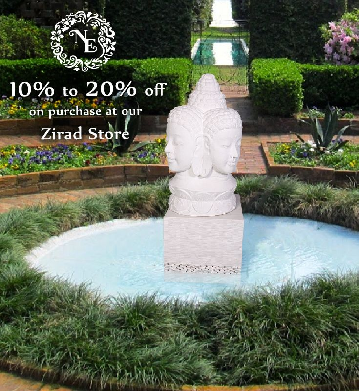 Install this beautiful 3 face Buddha Statue and personify your garden area. Get them only from Nostalgia Enterprises at Zirad, Alibaug. whatsapp +91 73918 68437 www.nostalgiaenterprises.com  #nostalgiaenterprises #stoneartifacts #outdoorfurniture #homedecor #art #design #instadecor #instadesign #besthomestore #lifestyle #discount #bestprice #rainingsale #monsoonoffer #grab #zirad #alibaug #sale #offer #ranges #grabthismonsoonoffer #mustvisit