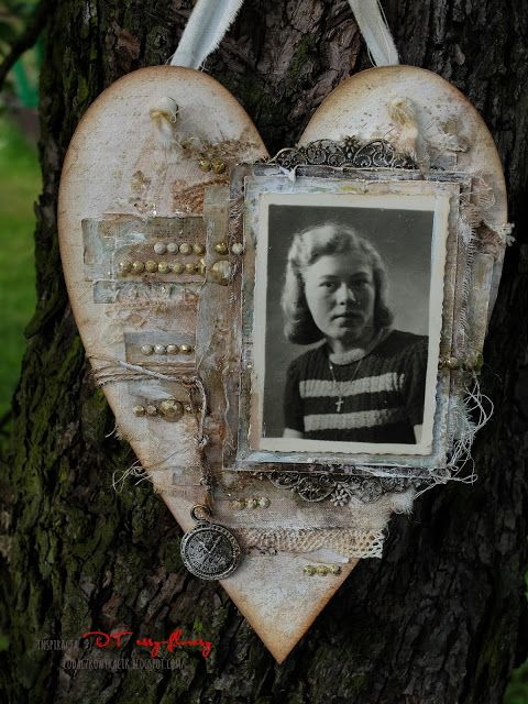 Vintage'owe serce - Kasia