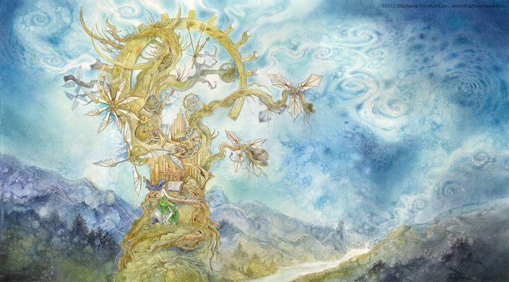 """""""Wind Machine"""" by Stephanie Pui-Mun Law... I have GOT to get a print of this."""
