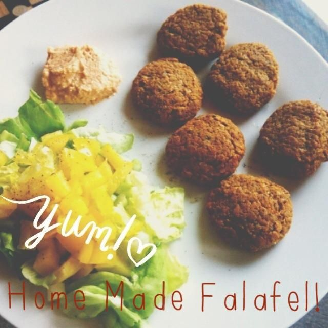 Home Made Healthy Falafel Recipe   http://nicsnutrition.com/recipe/home-healthy-falafel-recipe/