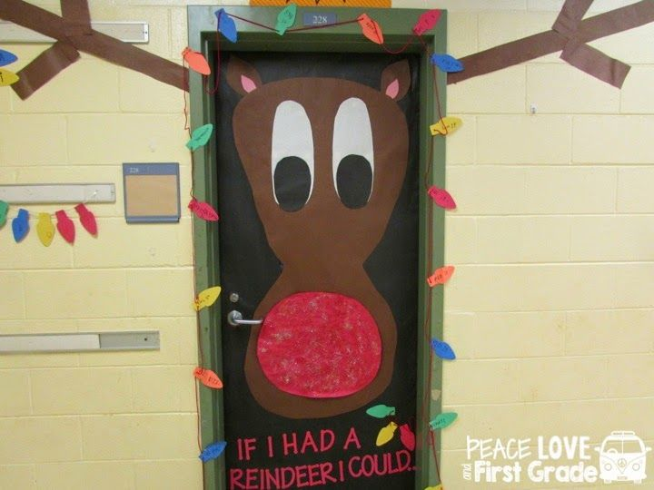 Peace, Love, and First Grade: Holiday Doors Galore!