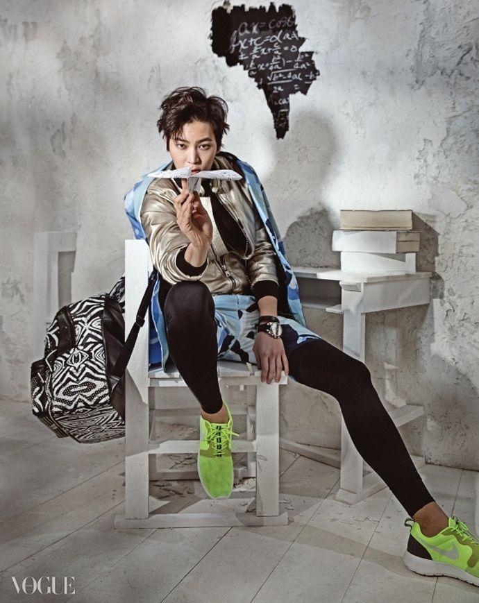 Joo Won for Vogue Korea June 2014 Issue