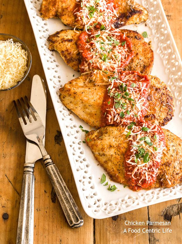 Chicken Parmesan | 23 Boneless Chicken Breast Recipes That Are Actually Delicious