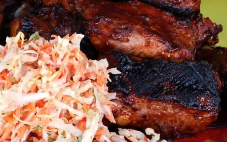 ... Ribs with Sweet and Sour Slaw by Ching-He Huang (Pork) @FoodNetwork_UK