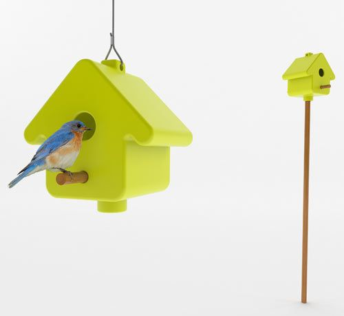 Get Out! PICTO Birdhouse by Birds for Design Photo