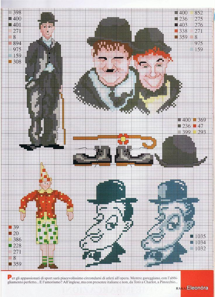 Laurel & Hardy, Charlie Chaplin chart