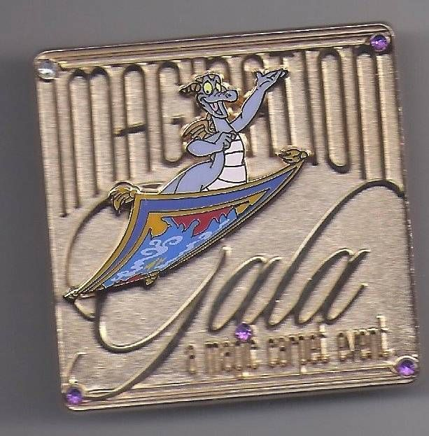 Disney WDW Imagination Gala Pin Event Goofy and Figment LE Pin