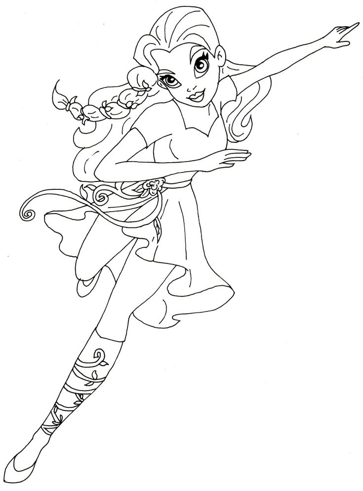Princess Ivy Coloring Pages - Through the thousand images ...