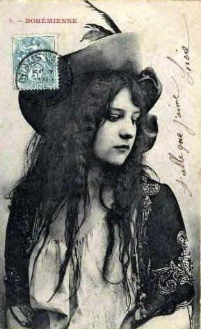bohemian postcard. Love it.