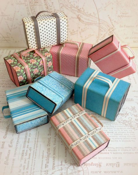 Matchbox Suitcases