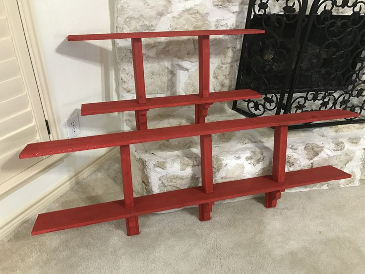 Awesome bookshelf made with 70 off scrap wood from home