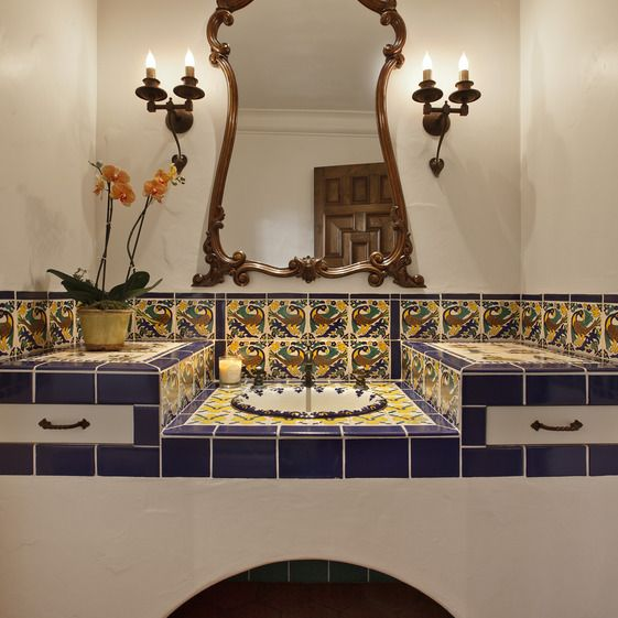 1000 ideas about spanish style bathrooms on pinterest amazing spanish bath great bath ideas pinterest