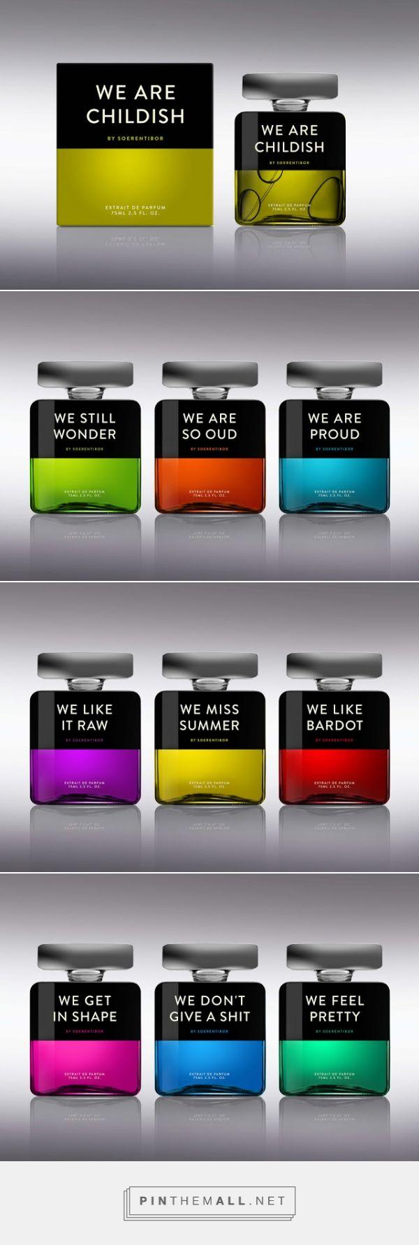 WE #PERFUME #packaging designed by SOERENTIBOR - http://www.packagingoftheworld.com/2015/07/we-perfume.html #moods