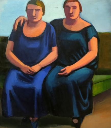 Two Sisters - Vilhelm Lundstrom, 1923