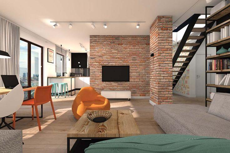 Amazing Home Interior Design ~ http://www.lookmyhomes.com/best-home-interior-design-ideas-15-photos-by-loft-in-katowice/