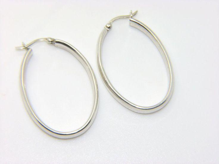 Silverly Women's .925 Sterling Silver Interlinking Ring Disc Hoop Polished Chain Bracelet, 22 cm