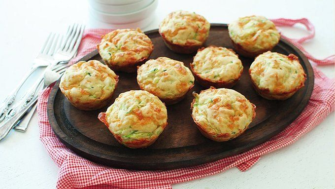 These muffins are DEEP in cheese flavor. And garlic! And zucchini. Basically, they're awesome. Cheesy Garlic Zucchini Muffins!