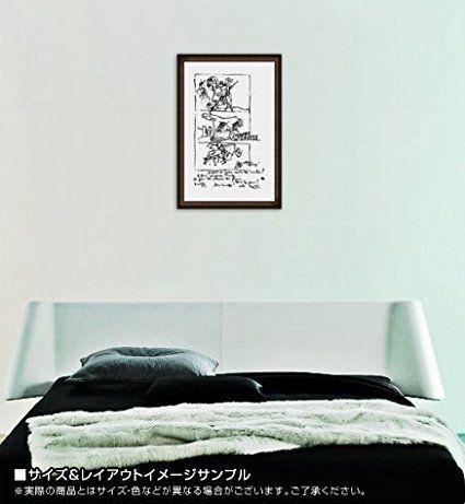 Amazon.co.jp : ポスター ル コルビジェ Don Quichotte 額装品 ウッドハイグレードフレーム(オーク) : ホーム&キッチン