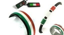 Tricolori sieraden van carbon   Il Giornale, Italiekrant over Italiaanse zaken en smaken