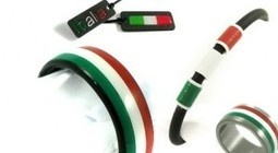 Tricolori sieraden van carbon | Il Giornale, Italiekrant over Italiaanse zaken en smaken