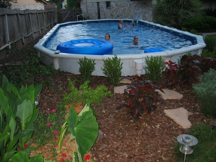 76 best animals chillin 39 in the water images on pinterest for Above ground pool landscaping ideas pictures