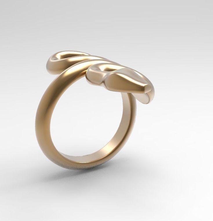 ring snake 10362 3d model 3ds stl 3dm 5