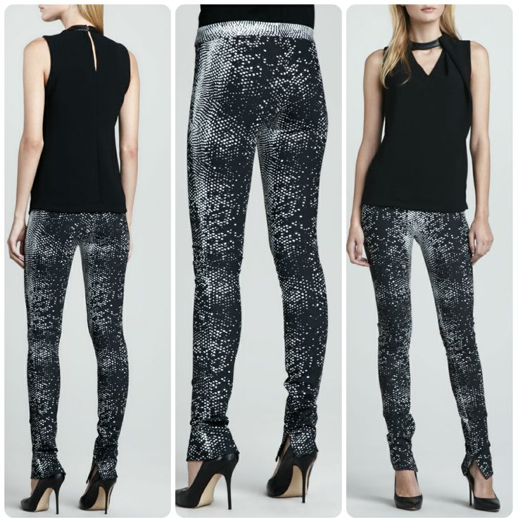 Bring your casual looks to life with these #Robert Rodriguez #Python-Print leggings #villababoushka #fashion #egypt #concept store