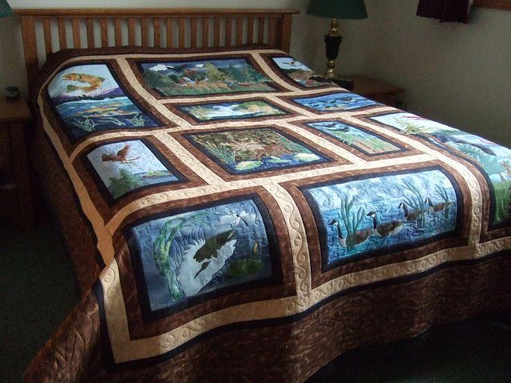 wildlife quilt patterns | Wildlife Quilt