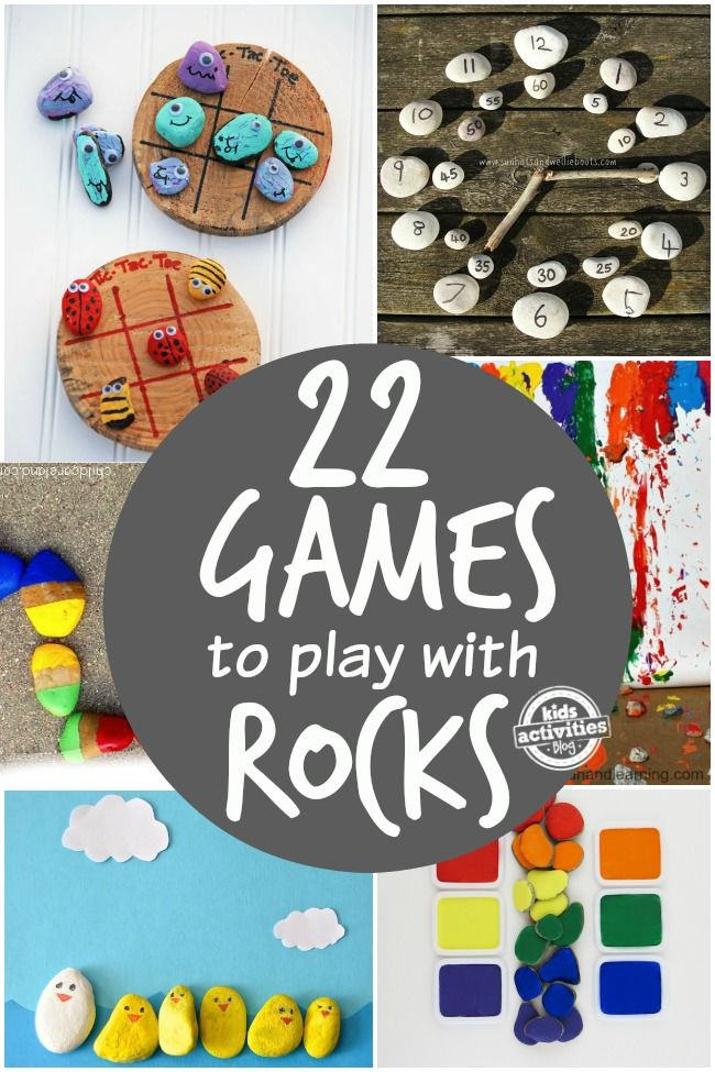 activities with rocks