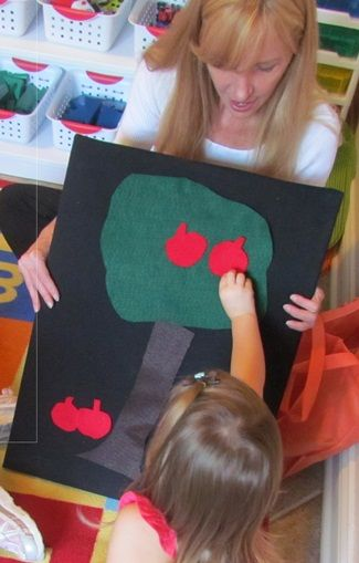 Letter A nursery rhyme: Way Up High in the Apple Tree