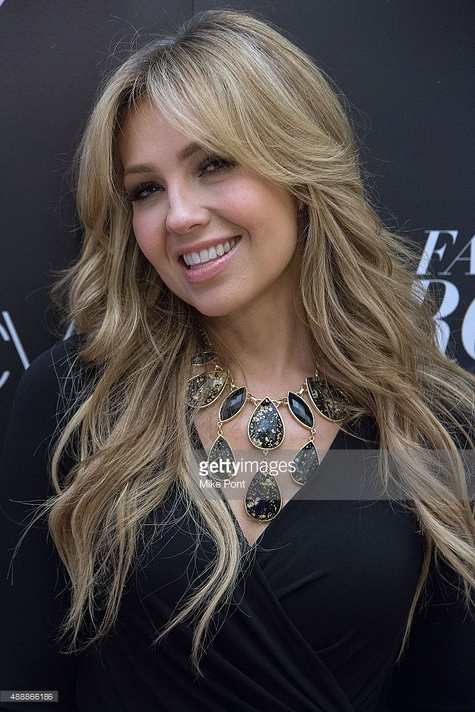 Singer Thalia attends Fashion's Front Row after party during Spring 2016 New York Fashion Week at Macy's Herald Square on September 17, 2015 in New York City.