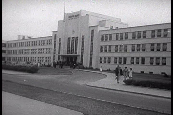 The FBI Academy In Quantico, Virginia In 1959. Stock Footage Video ...