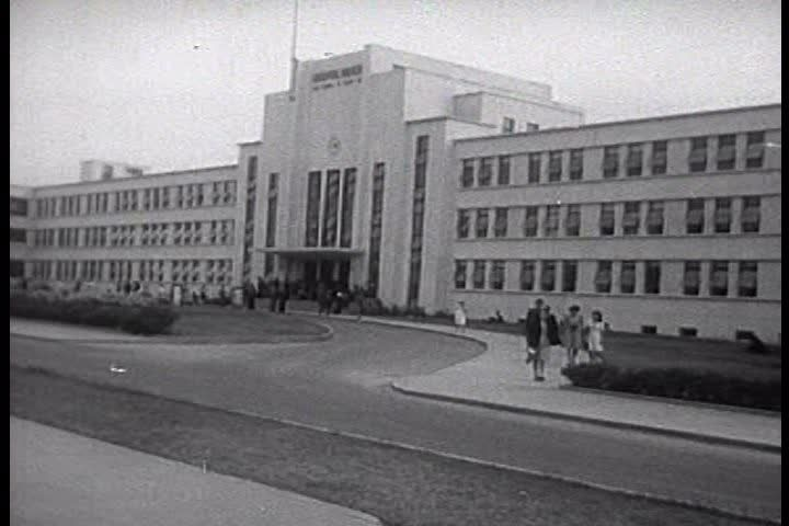 The FBI Academy In Quantico, Virginia In 1959. Stock Footage Video ...