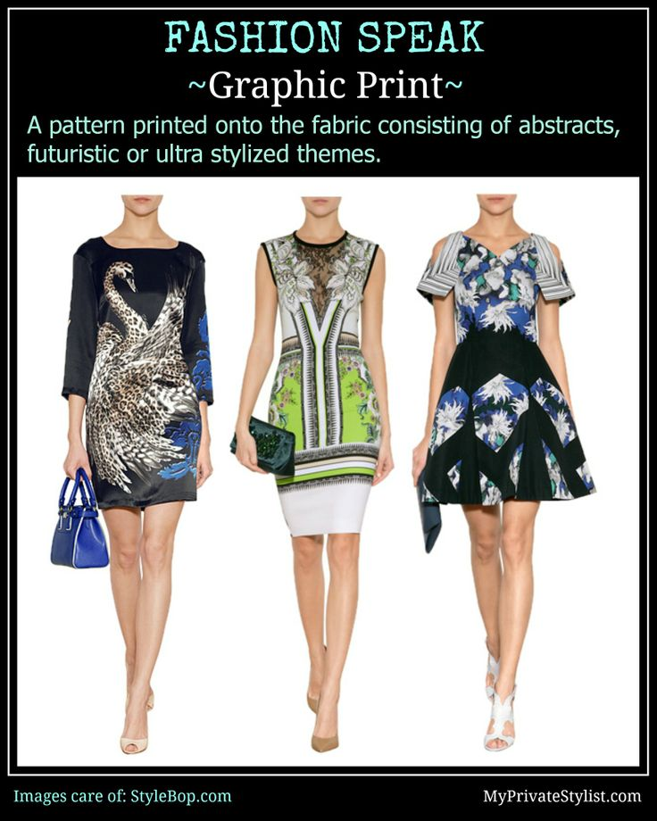 Fabric: Graphic Prints