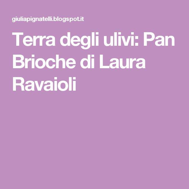 Terra degli ulivi: Pan Brioche di Laura Ravaioli