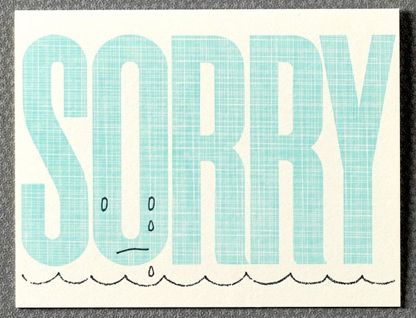 9 Best Sorry Cards Images On Pinterest Greeting Cards, Bricolage   Free  Printable Apology Cards  Free Printable Apology Cards