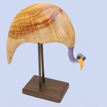 Handmade by Andre van Niekerk this quirky bird sculpture is a great decor item.