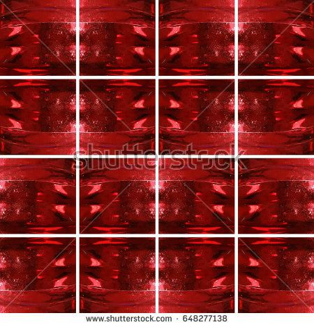 #Dark #red #glass #texture inside #square shapes arranged as #shiny #background