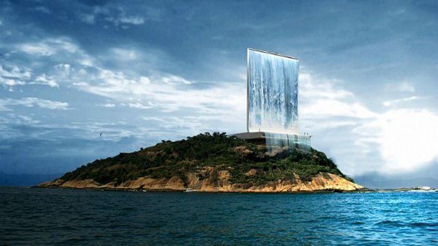 Une cascade artificielle pour les Jeux Olympiques les plus eco-friendly de ce siècle