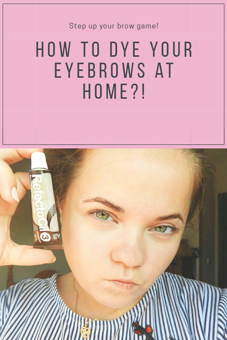 How to dye eyebrows at home?   Dye eyebrows, Skin care ...