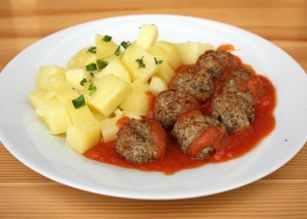 Mäsové guličky pečené v rúre, Hlavné jedlá, recept | Naničmama.sk