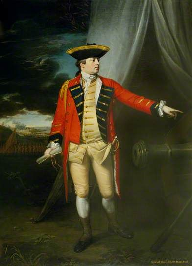 The Honourable Robert Monckton.  Second-in-Command and senior Brigadier of Wolfe's Army.