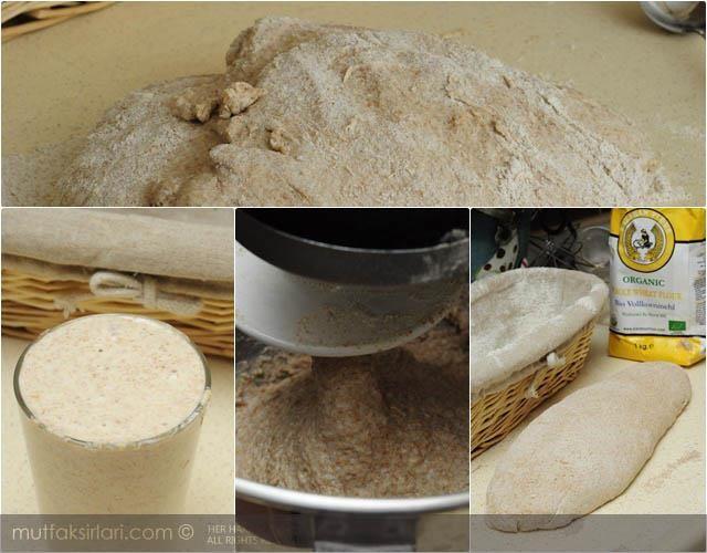 Ekşi Mayalı Tam Buğday Ekmeği – Mutfak Sırları