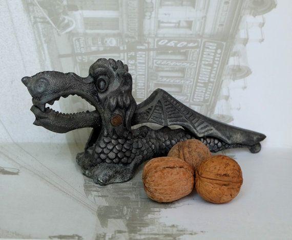 Dragon Nutcracker vintage sheller retro nut by MadeInTheUSSR