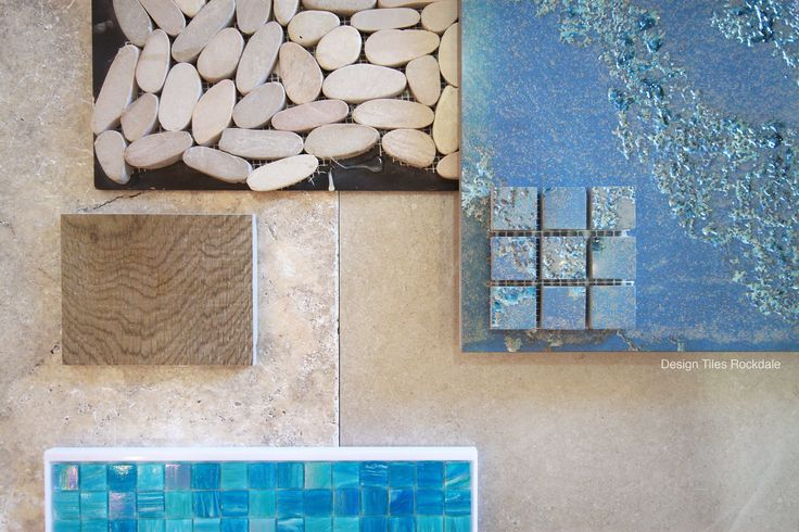 Summer is here and this would be the perfect haven for your outdoor pool area!  Tumbled Silver Travertine as your pool coping Trend Pool Glass Mosaics for your pool internal, Sliced Pebble floor feature for your outdoor shower, Timber tile for your decking and Bicio Papio Blue for your pool waterfall feature and Stone look Porcelain tile for your BBQ floor area.  Hows that for inspiration...?