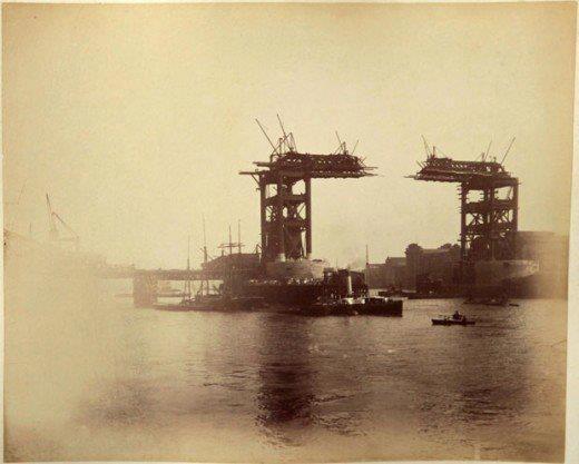 Construction of Tower Bridge 1886-1894